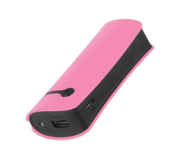 4400mAh Pod Power Bank - Pink