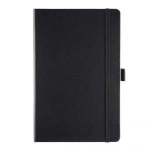 Albany A5 Notebook - black