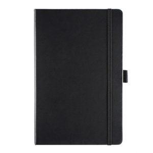 Albany A5 Notebook - black