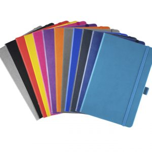 A5 Albany Promotional Notebook - colours