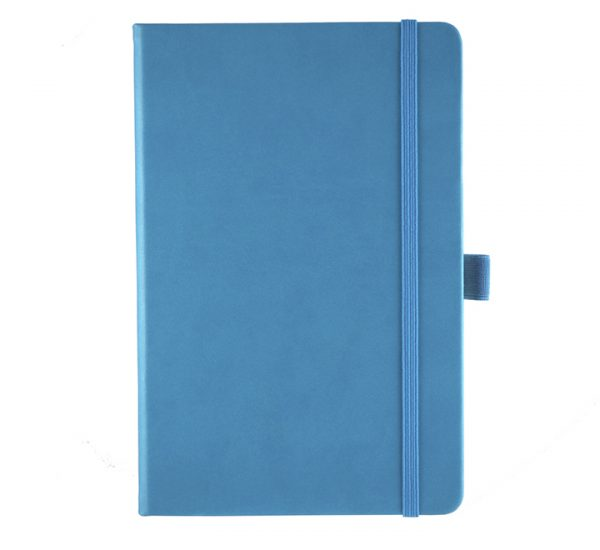 Albany A5 Notebook - cyan