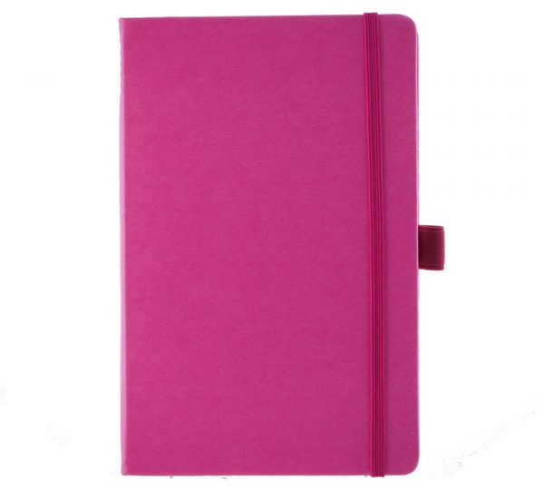 Albany A5 Notebook - pink