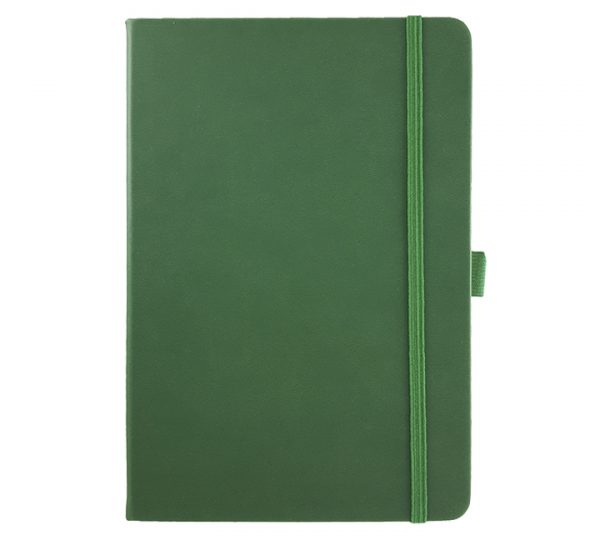 Albany A5 Notebook - racing green