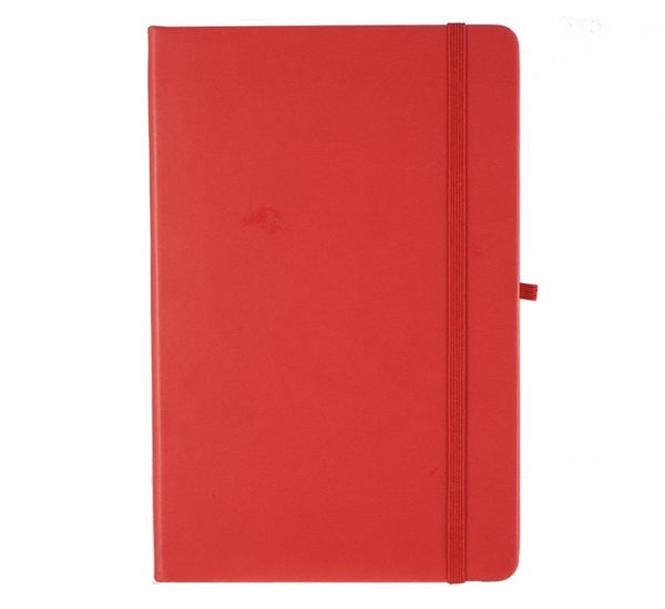 Albany A5 Notebook - red