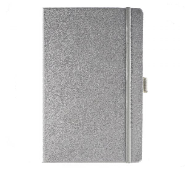 Albany A5 Notebook - silver