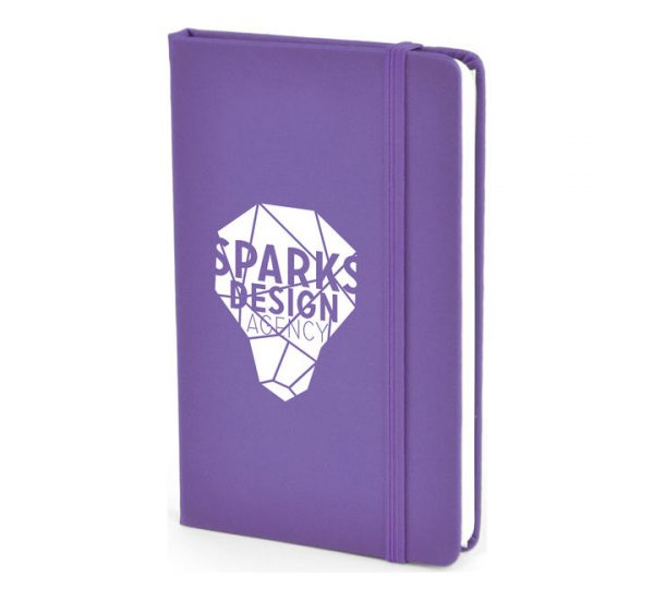 A6 PU Notebook-purple