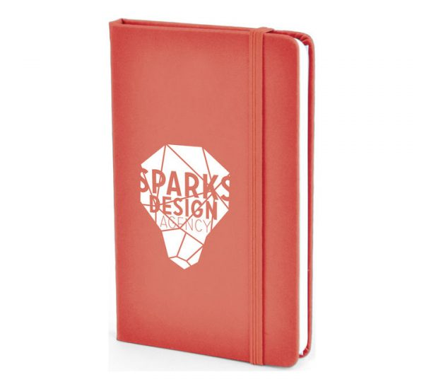 A6 PU Notebook-red