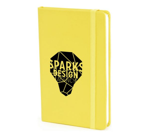 A6 PU Notebook-yellow