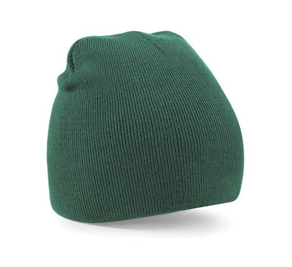 Beechfield Beanie Hat-bottle green