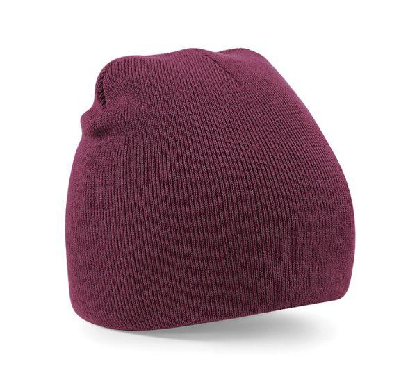 Beechfield Beanie Hat-burgundy
