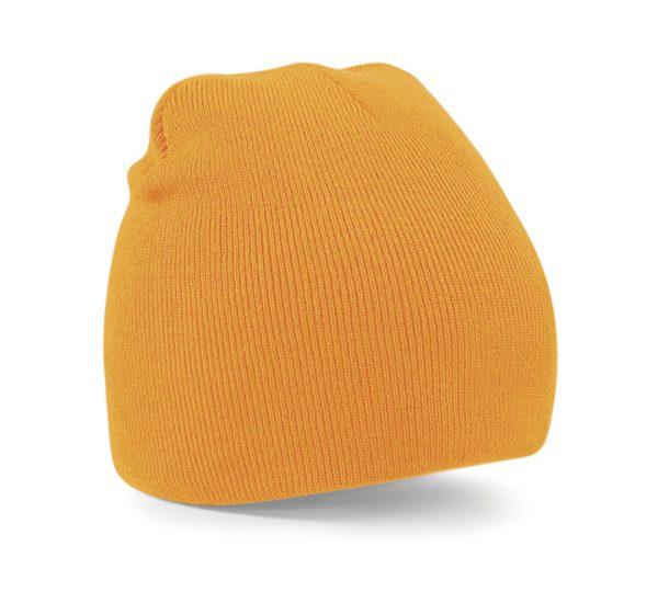Beechfield Beanie Hat-fluorescent orange