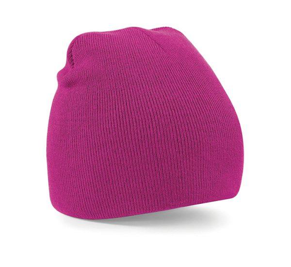 Beechfield Beanie Hat-fuchsia