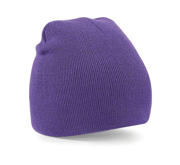 Beechfield Beanie Hat-purple