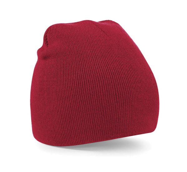 Beechfield Beanie Hat-red