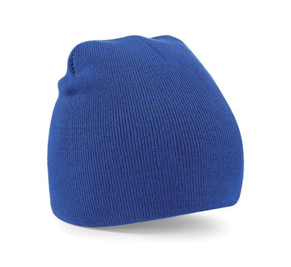 Beechfield Beanie Hat-royal blue