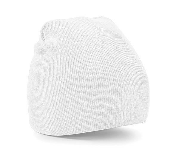 Beechfield Beanie Hat-white