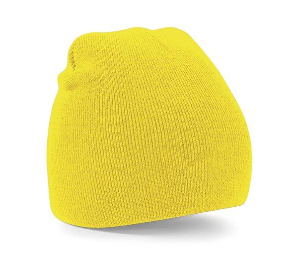 Beechfield Beanie Hat-yellow