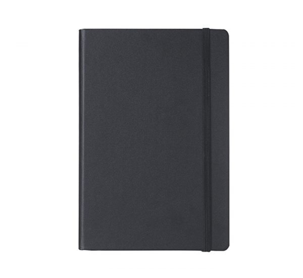 Branded A5 Premium Regency notebook-black