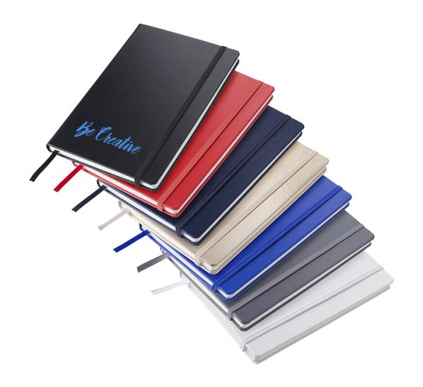 Branded A5 Premium Regency notebook-group