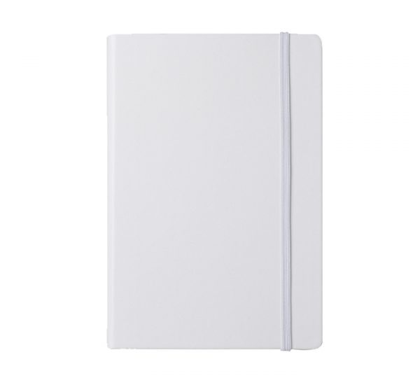 Branded A5 Premium Regency notebook-white