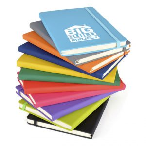 A5 Soft Touch Notebook - Colour Group