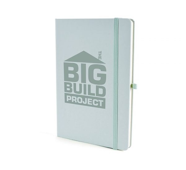 A5 Soft Touch Notebook-Pastel Green