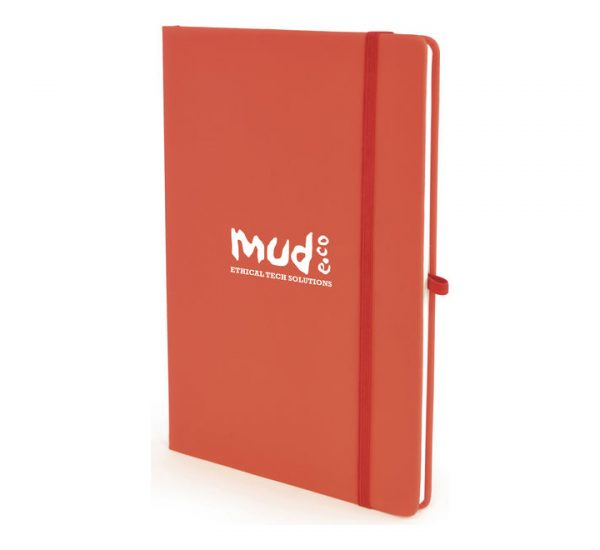 A5 Soft Touch Notebook - Red