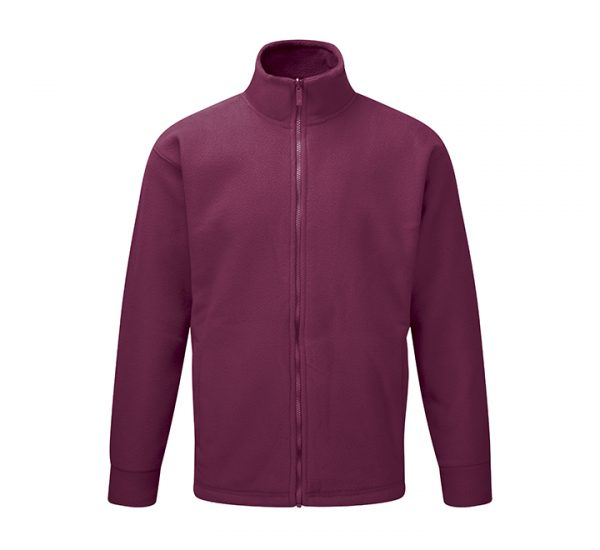 Corporate albatross fleece-burgundy