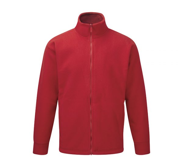 Corporate albatross fleece-red