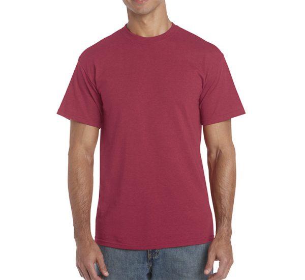 Gildan Colour Heavy Cotton T-Shirt-Antique Cherry Red