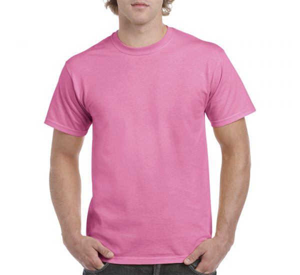 Gildan Colour Heavy Cotton T-Shirt-Azalea