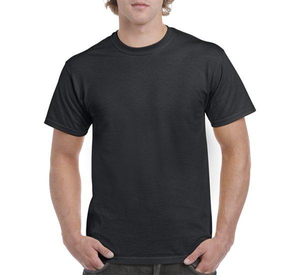 Gildan Colour Heavy Cotton T-Shirt-Black