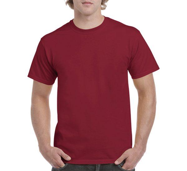 Gildan Colour Heavy Cotton T-Shirt-Cardinal