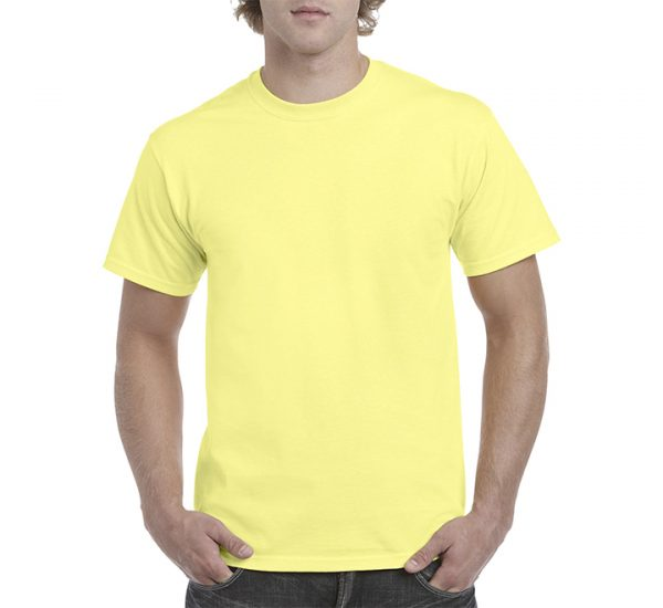 Gildan Colour Heavy Cotton T-Shirt-Cornsilk