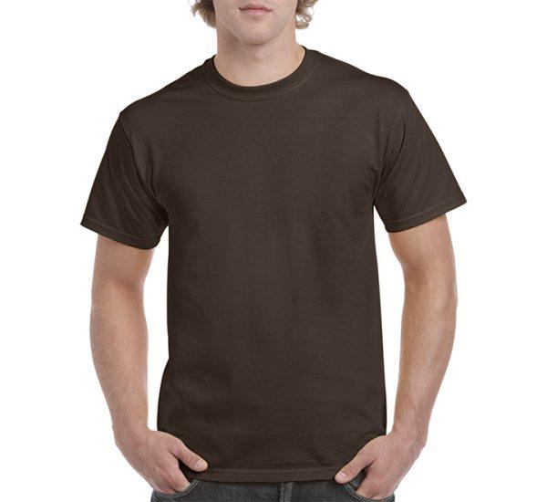 Gildan Colour Heavy Cotton T-Shirt-Dark Chocolate