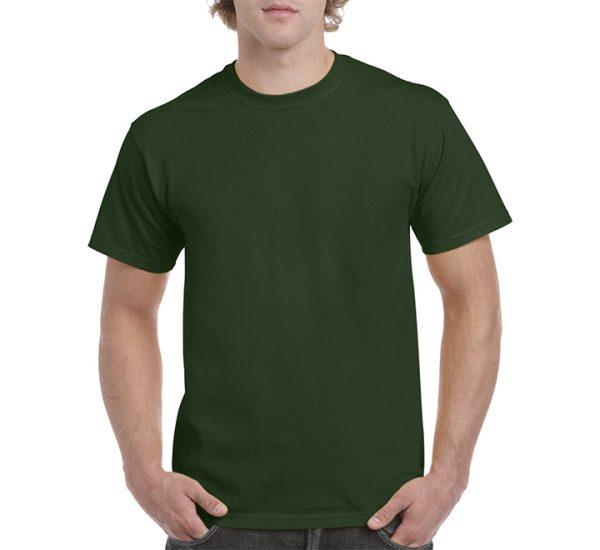 Gildan Colour Heavy Cotton T-Shirt-Forest Green
