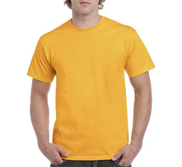 Gildan Colour Heavy Cotton T-Shirt-Gold