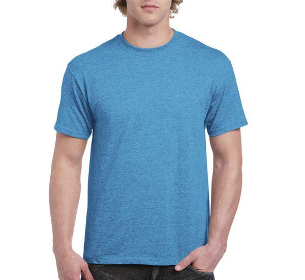 Gildan Colour Heavy Cotton T-Shirt-Heather Sapphire