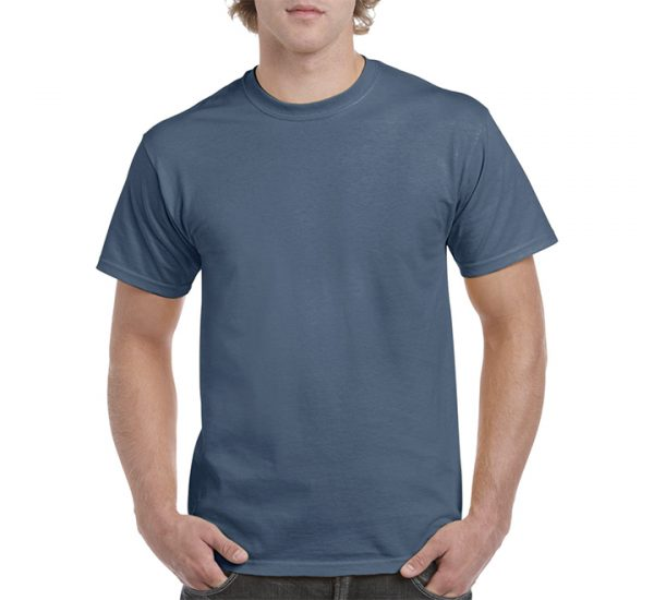 Gildan Colour Heavy Cotton T-Shirt-Indigo Blue