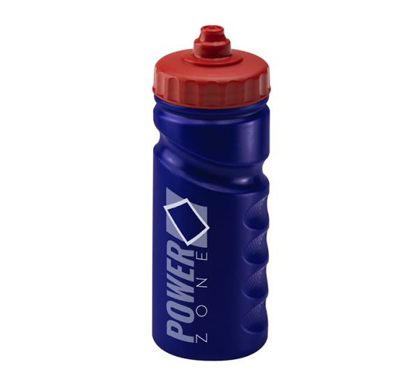 Premium promotional sports bottle-dark-blue