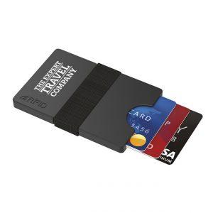 Printed Plastic RFID Plastic Wallet-branded