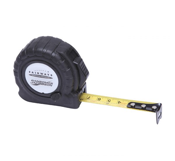 Printed Trade Tape Measure-black