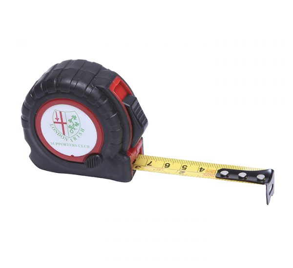 Printed Trade Tape Measure-red