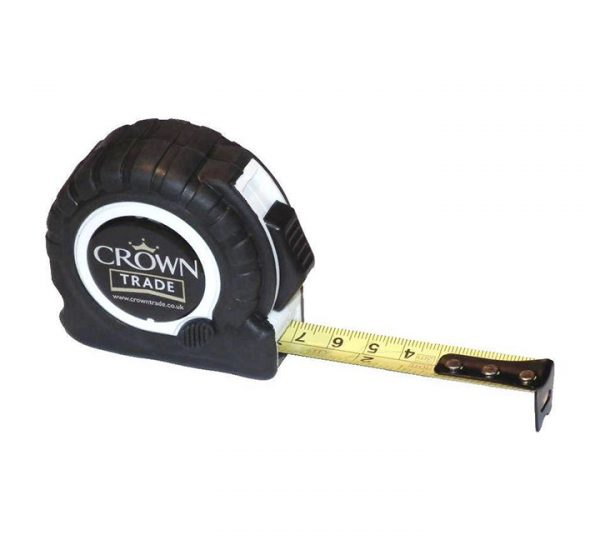 Printed Trade Tape Measure-white
