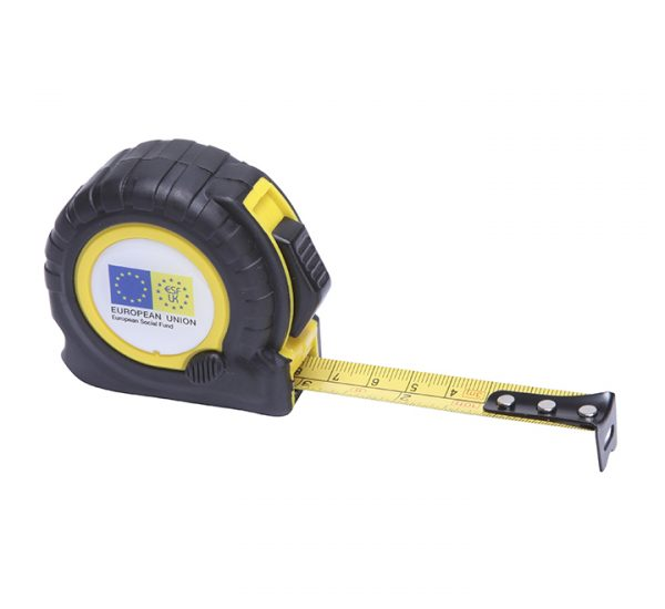 Printed Trade Tape Measure-yellow