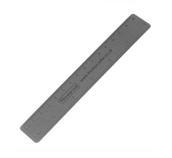 Promotional 150mm Metal Scale Ruler