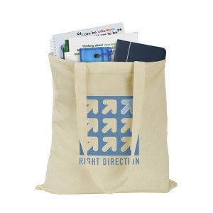 Promotional 5oz Cotton Shopper - natural