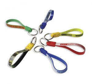 Promotional Ad-Loop Keyring-group