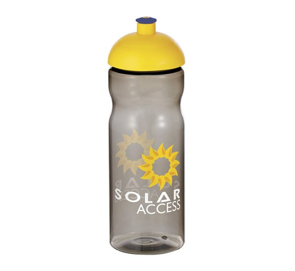 Promotional H20 Sports Bottle-charcoal
