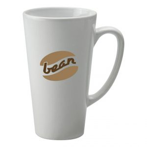 Promotional Latte Mug-printed